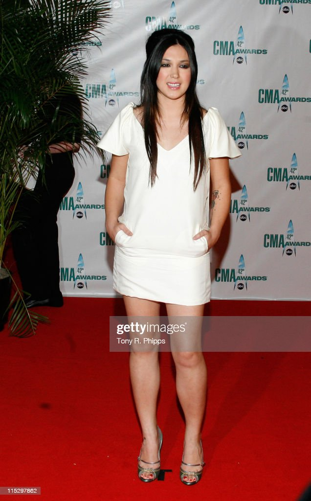 Musician Michelle Branch attends the 42nd Annual CMA Awards at the Sommet Center on November 12, 2008 in Nashville, Tennessee.
