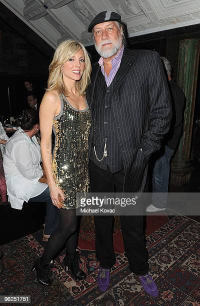 Musician Mick Fleetwood and actress Marla Maples attend the Artists For Peace And Justice and WeTheChildren Project Benefit For Haiti at House of...