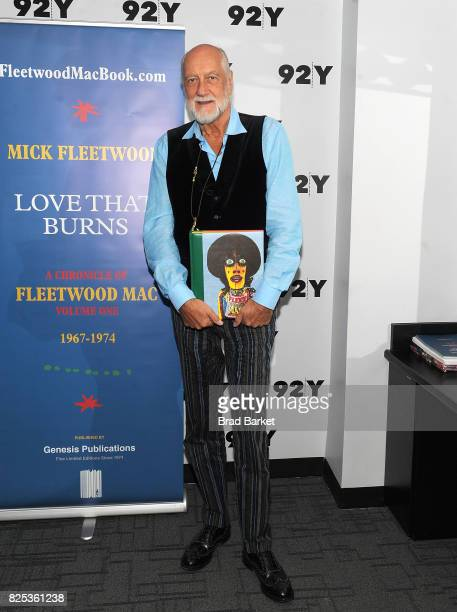 Musician Mick Fleetwood attends the 92nd Street Y Presents Mick Fleetwood at 92nd Street Y on August 1 2017 in New York City