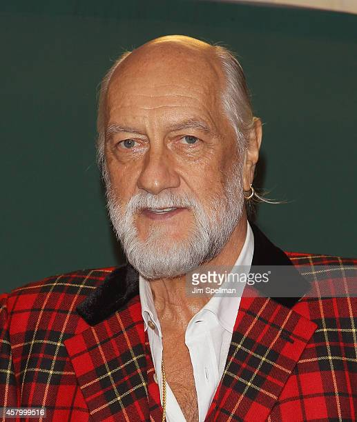 Musician Mick Fleetwood signs copies of 'Play On Now Then And Fleetwood Mac The Autobiography' at Barnes Noble 5th Avenue on October 28 2014 in New...