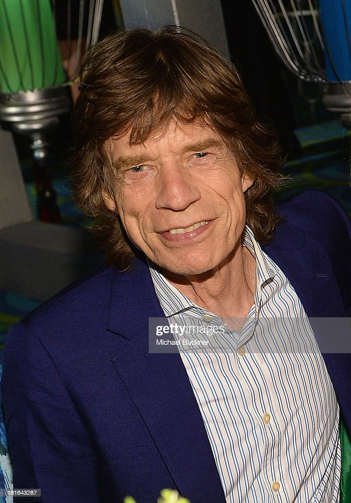 Musician <a gi-track='captionPersonalityLinkClicked' href=/galleries/search?phrase=Mick+Jagger&family=editorial&specificpeople=201786 ng-click='$event.stopPropagation()'>Mick Jagger</a> attends HBO's Annual Primetime Emmy Awards Post Award Reception at The Plaza at the Pacific Design Center on September 22, 2013 in Los Angeles, California.