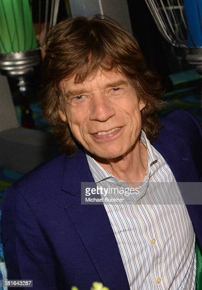 Musician Mick Jagger attends HBO's Annual Primetime Emmy Awards Post Award Reception at The Plaza at the Pacific Design Center on September 22 2013...