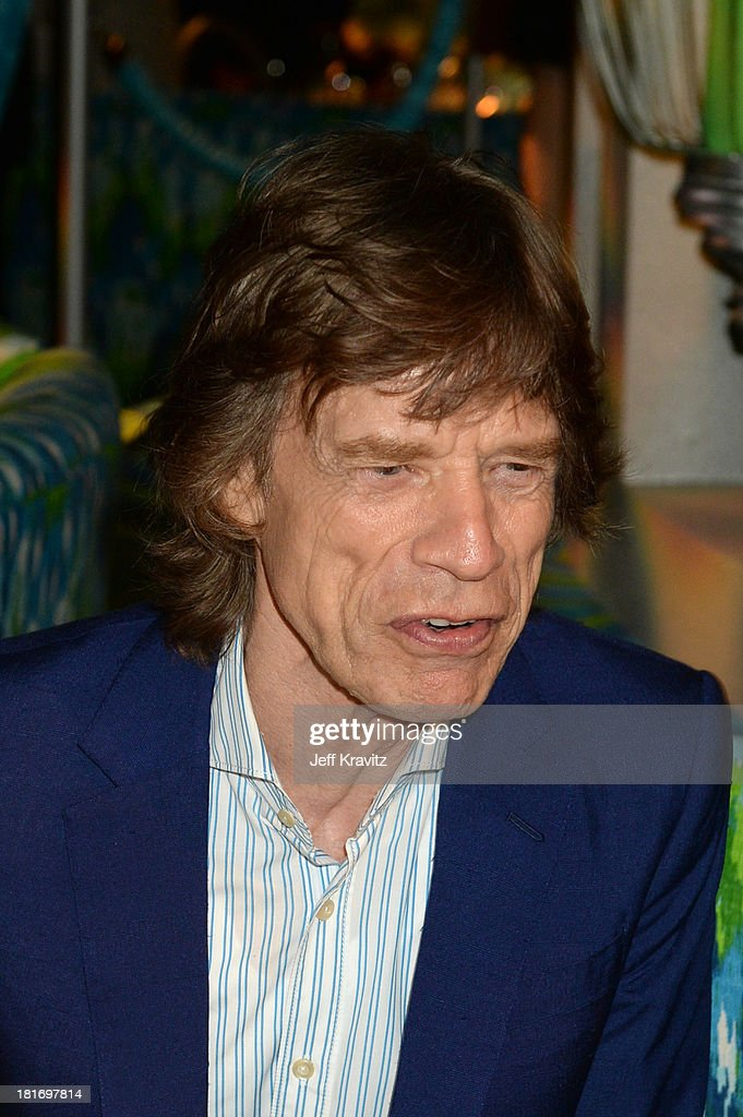 Musician Mick Jagger attends HBO's official Emmy after party at The Plaza at the Pacific Design Center on September 22, 2013 in Los Angeles, California.