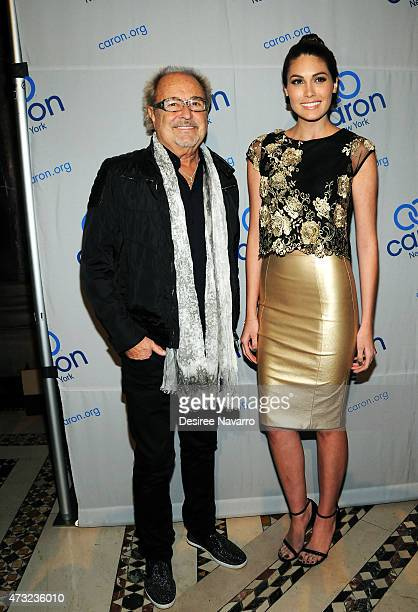 Musician Mick Jones of Foreigner and Gabriela Isler attend 2015 Caron Treatment Centers NYC Gala at Cipriani 42nd Street on May 13 2015 in New York...