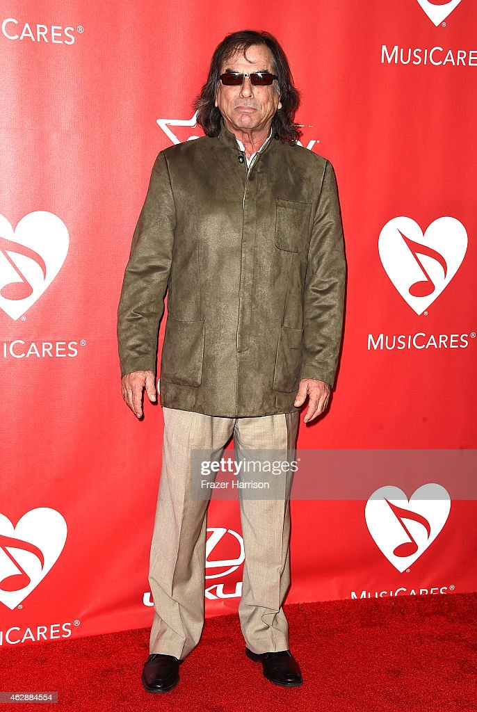 Musician Mickey Hart attends the 25th anniversary MusiCares 2015 Person Of The Year Gala honoring Bob Dylan at the Los Angeles Convention Center on February 6, 2015 in Los Angeles, California. The annual benefit raises critical funds for MusiCares' Emergency Financial Assistance and Addiction Recovery programs.