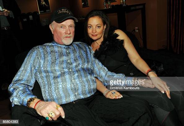 Musician Mike Love and wife...