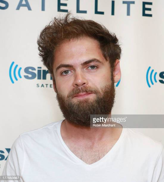 Musician Mike 'Passenger' Rosenberg at SiriusXM Studios on August 23 2013 in New York City