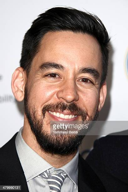 Musician Mike Shinoda attends the an Evening of Environmental Excellence presented by the UCLA Institute of The Environment and Sustainability on...