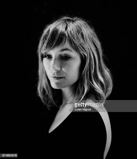Musician Mina Tindle is photographed for Cinq Sept on July 2014 in Paris France