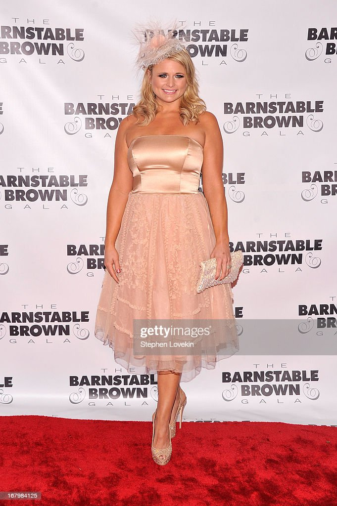 Musician Miranda Lambert attends the 2013 Barnstable-Brown Derby gala at Barnstable-Brown House on May 3, 2013 in Louisville, Kentucky.
