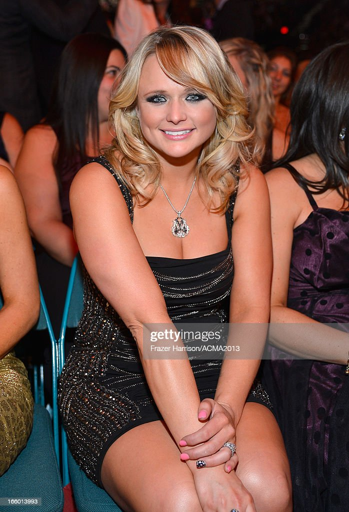Musician <a gi-track='captionPersonalityLinkClicked' href=/galleries/search?phrase=Miranda+Lambert&family=editorial&specificpeople=571972 ng-click='$event.stopPropagation()'>Miranda Lambert</a> attends the 48th Annual Academy of Country Music Awards at the MGM Grand Garden Arena on April 7, 2013 in Las Vegas, Nevada.