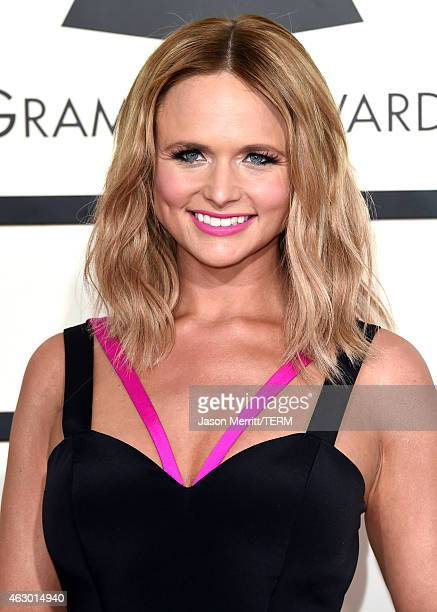 Musician Miranda Lambert attends The 57th Annual GRAMMY Awards at the STAPLES Center on February 8 2015 in Los Angeles California
