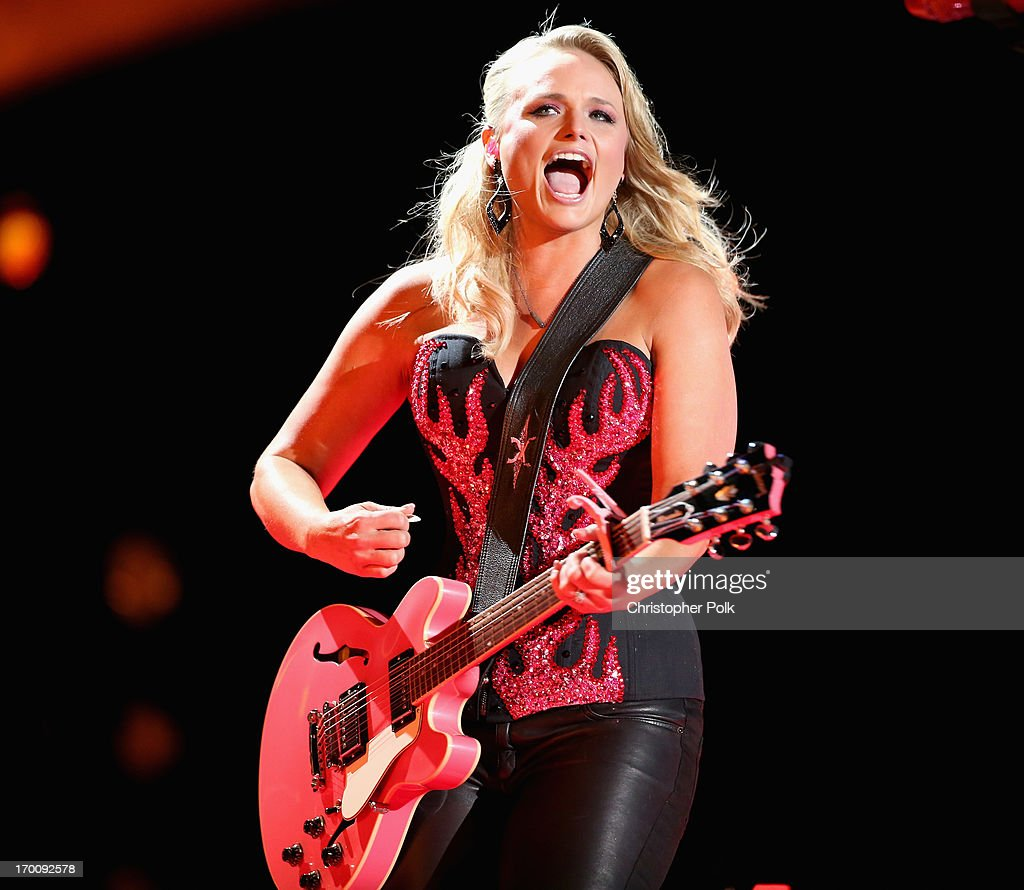 Musician Miranda Lambert performs during the 2013 CMA Music Festival on June 6, 2013 in Nashville, Tennessee.