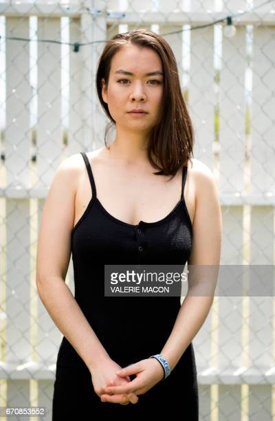 Musician Mitski poses at Coachella Valley Music And Arts Festival on April 16 in Indio California With a voice that glides gracefully from melancholy...