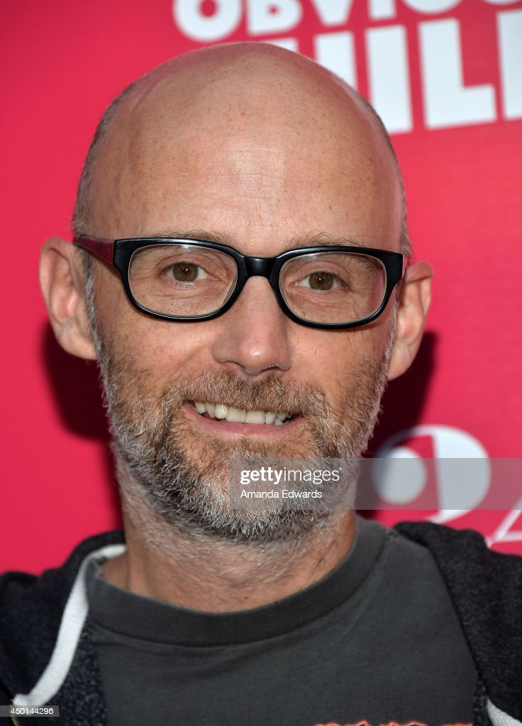Musician <a gi-track='captionPersonalityLinkClicked' href=/galleries/search?phrase=Moby&family=editorial&specificpeople=203129 ng-click='$event.stopPropagation()'>Moby</a> arrives at the Los Angeles special screening of A24's 'Obvious Child' at the ArcLight Hollywood on June 5, 2014 in Hollywood, California.