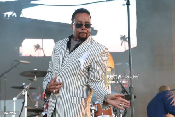 Musician Morris Day performs on stage at The 12th Annual Jazz In The Gardens Music Festival Day 1 at Hard Rock Stadium on March 18 2017 in Miami...