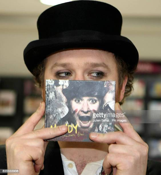 Musician Mundy is pictured in HMV in Grafton Street Dublin for a live acoustic set and to promote his new album 'Strawberry Blood'