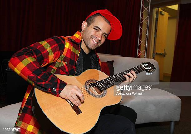 Musician Nacho from the group Chino y Nacho attends the 11th Annual Latin GRAMMY Awards Univision Radio Remotes held at Mandalay Bay Events Center on...
