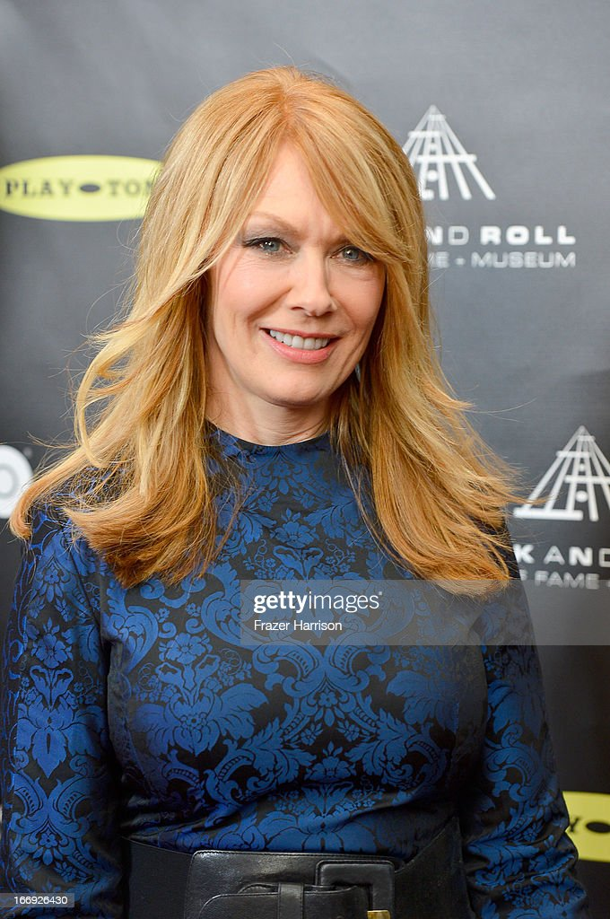 Musician Nancy Wilson of Heart attends the 28th Annual Rock and Roll Hall of Fame Induction Ceremony at Nokia Theatre LA Live on April 18 2013 in Los...