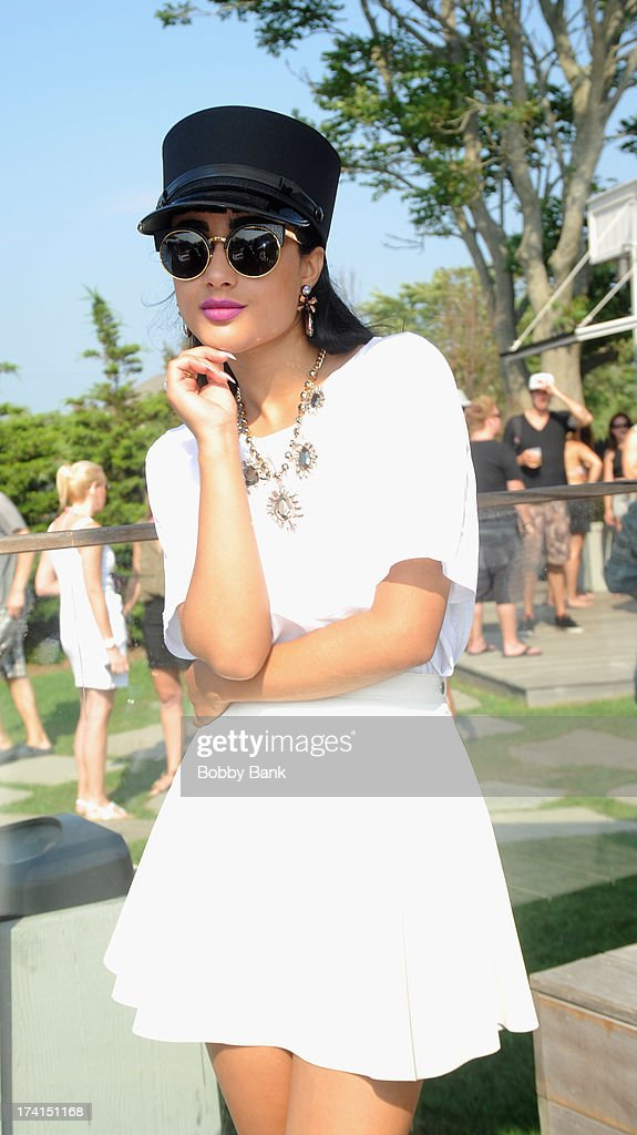 Musician Natalia Kills attends the opening celebration of 'Sound Waves At The House' at the Montauk Beach House on July 20, 2013 in Montauk, New York.