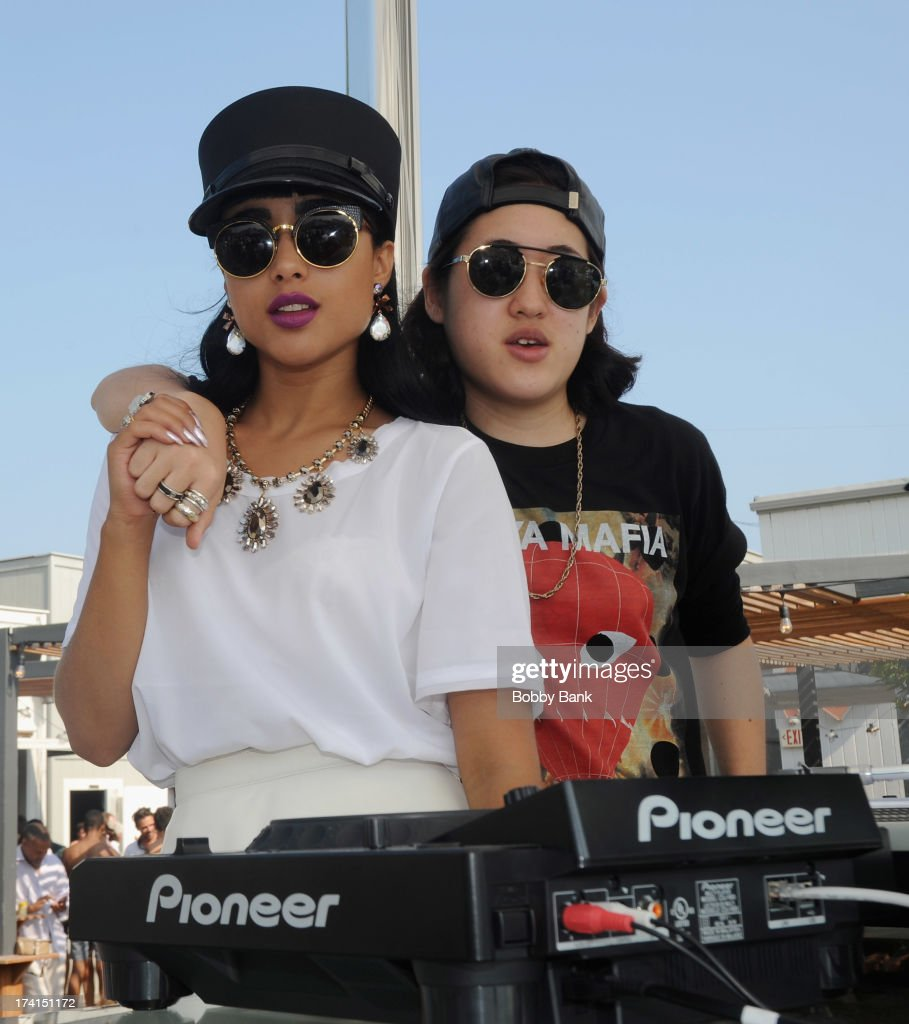 Musician <a gi-track='captionPersonalityLinkClicked' href=/galleries/search?phrase=Natalia+Kills&family=editorial&specificpeople=6915479 ng-click='$event.stopPropagation()'>Natalia Kills</a> attends the opening celebration of 'Sound Waves At The House' at the Montauk Beach House on July 20, 2013 in Montauk, New York.