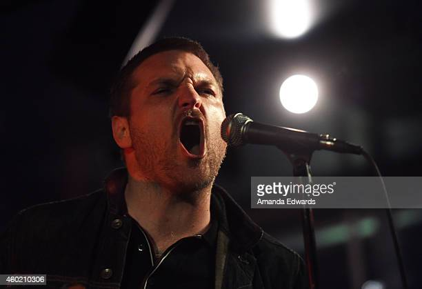 Musician Nathan Willett of the band Cold War Kids performs at Alt 987's annual 'Altimate Roof Top Christmas Party' at The Loft and Rooftop Wet Deck...