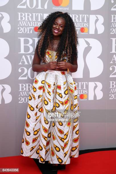 Musician Nayo attends The BRIT Awards 2017 at The O2 Arena on February 22 2017 in London England