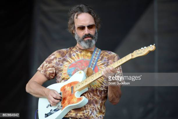Musician Neal Casal of Chris Robinson Brotherhood performs onstage during the Bourbon Beyond Festival at Champions Park on September 23 2017 in...