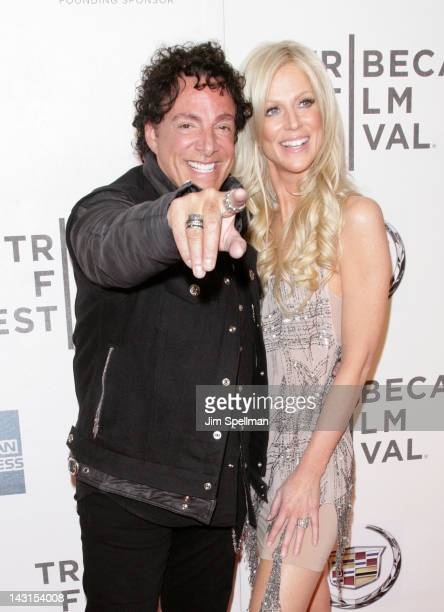 Musician Neal Schon and Michaele Salahi attend the premiere of 'Don't Stop Believin' Everyman's Journey' during the 2012 Tribeca Film Festival at...