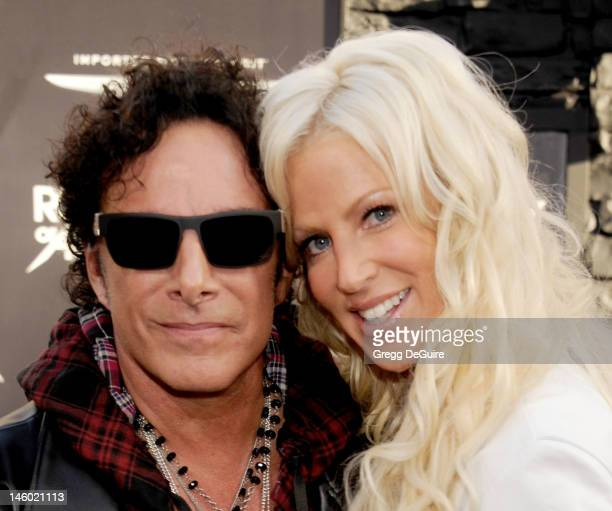 Musician Neal Schon of Journey and Michaele Salahi arrive at the 'Rock of Ages' Los Angeles premiere at Grauman's Chinese Theatre on June 8 2012 in...