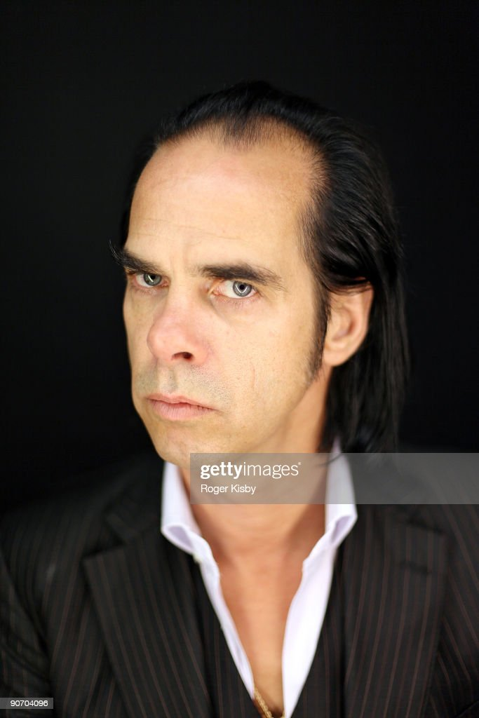 Musician Nick Cave poses for a portrait at the ATP New York 2009 festival at the Kutsher's Country Club on September 12 2009 in Monticello New York
