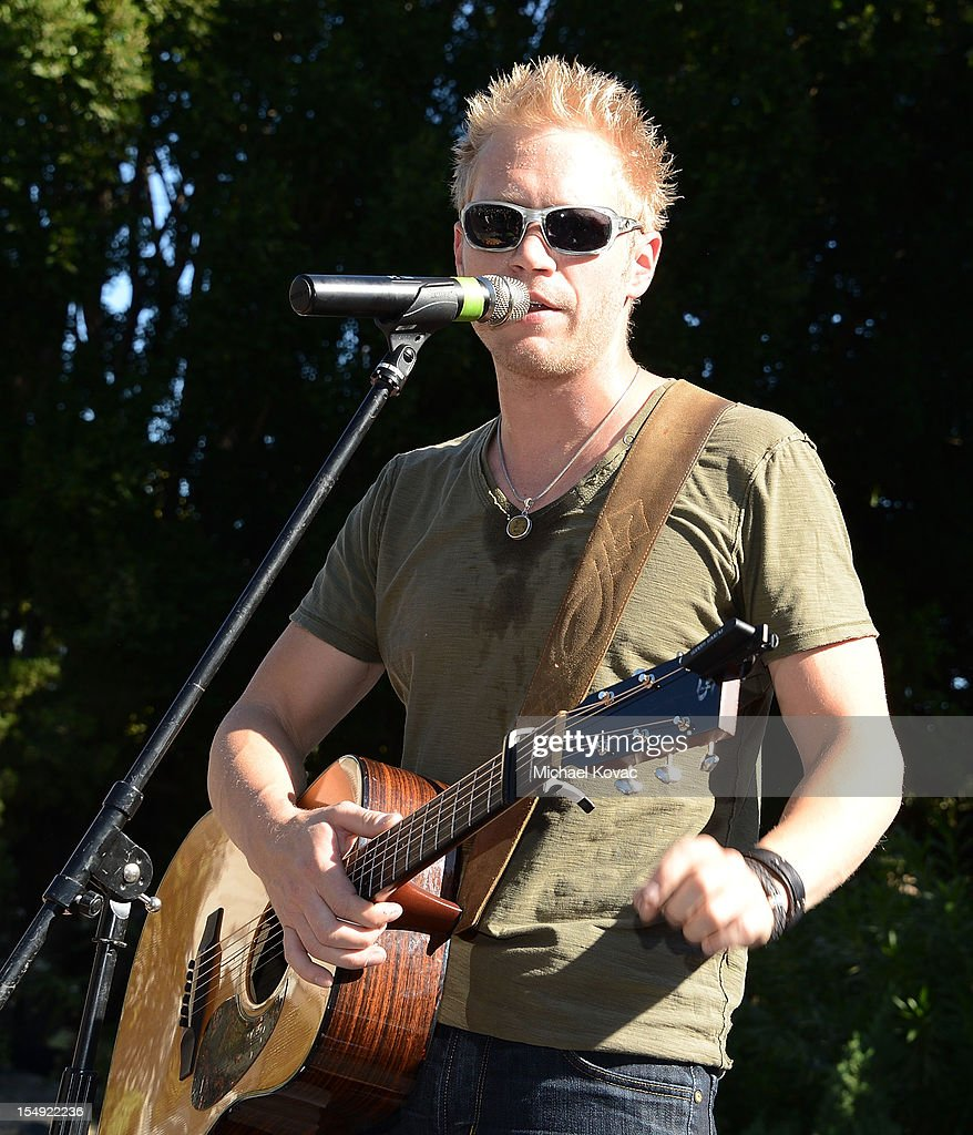Musician Nick Hoffman of musical group The Farm performs onstage at The T.J. Martell Foundation 4th Annual Family Day LA on October 28, 2012 in Los Angeles, California.