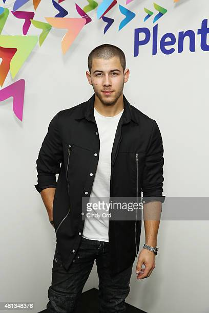 Musician Nick Jonas attends a oneofakind concert experience in New York City 'PlentiTogether LIVE' bringing to life the 'better together' theme of...