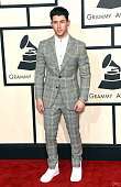 Musician Nick Jonas attends The 57th Annual GRAMMY Awards at the STAPLES Center on February 8 2015 in Los Angeles California