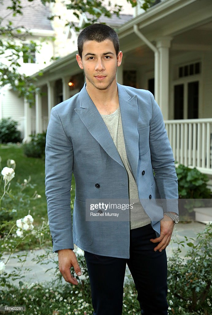 Musician <a gi-track='captionPersonalityLinkClicked' href=/galleries/search?phrase=Nick+Jonas&family=editorial&specificpeople=842713 ng-click='$event.stopPropagation()'>Nick Jonas</a> attends the Communities In Schools Of Los Angeles Gala 2014, Presented By CAA And EIF on April 29, 2014 in Los Angeles, California.