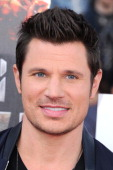 Musician Nick Lachey attends the 2014 MTV Movie Awards at Nokia Theatre LA Live on April 13 2014 in Los Angeles California