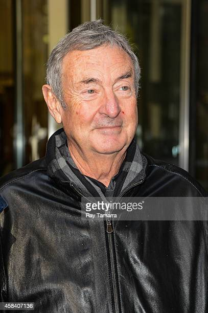 Musician Nick Mason of Pink Floyd enters the Sirius XM Studios on November 4 2014 in New York City
