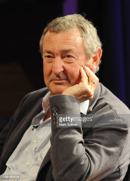 Musician Nick Mason onstage during An Evening With Nick Mason at The GRAMMY Museum on September 22 2011 in Los Angeles California