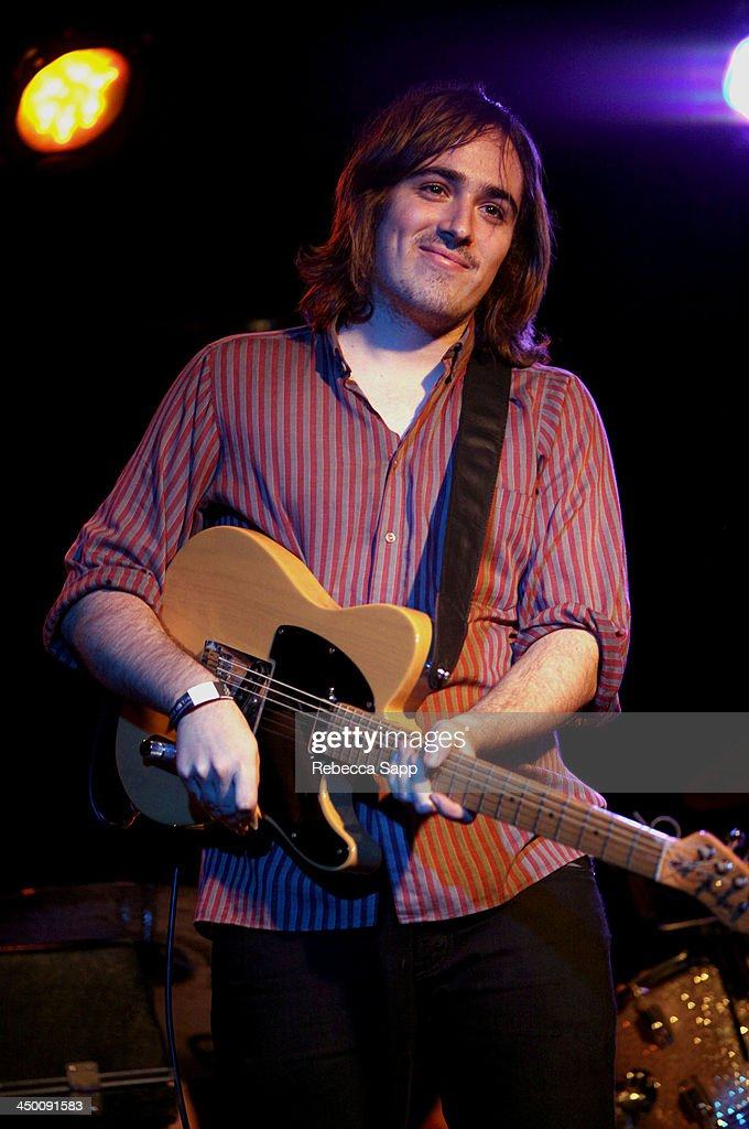 Musician Nick Stratton of Beeswax performs onstage at El Cid on November 15, 2013 in Los Angeles, California.