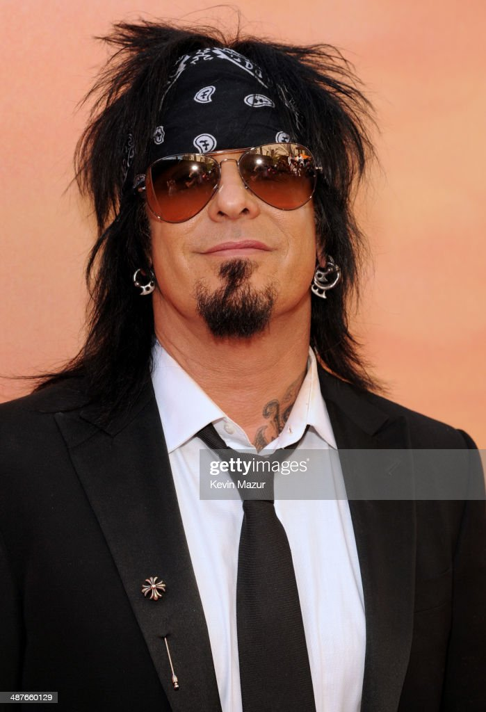 Musician <a gi-track='captionPersonalityLinkClicked' href=/galleries/search?phrase=Nikki+Sixx&family=editorial&specificpeople=213311 ng-click='$event.stopPropagation()'>Nikki Sixx</a> attends the 2014 iHeartRadio Music Awards held at The Shrine Auditorium on May 1, 2014 in Los Angeles, California. iHeartRadio Music Awards are being broadcast live on NBC.
