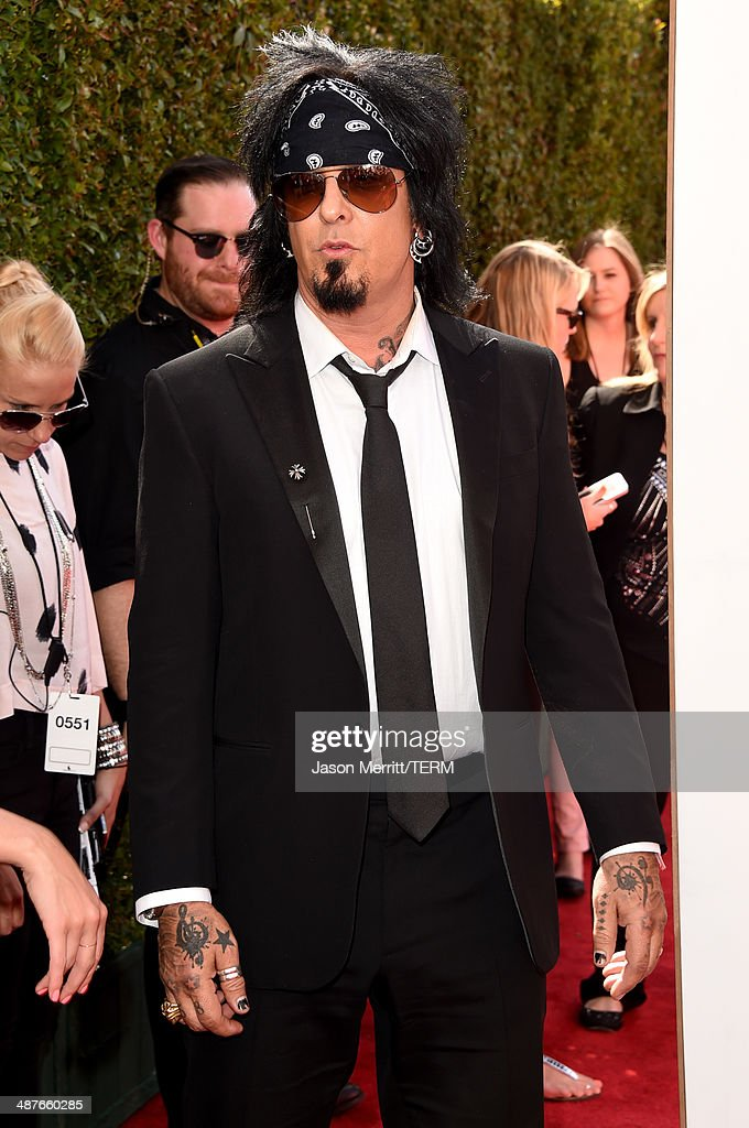 Musician Nikki Sixx attends the 2014 iHeartRadio Music Awards held at The Shrine Auditorium on May 1, 2014 in Los Angeles, California. iHeartRadio Music Awards are being broadcast live on NBC.
