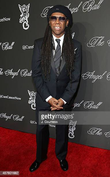 Musician Nile Rodgers attends Angel Ball 2014 at Cipriani Wall Street on October 20 2014 in New York City