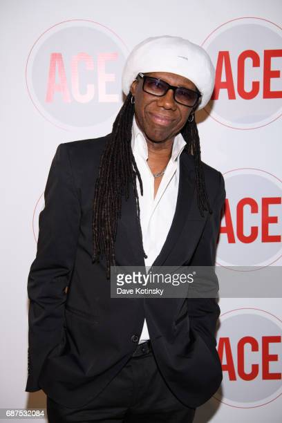 Musician Nile Rodgers attends the 2017 ACE Gala at Capitale on May 23 2017 in New York City