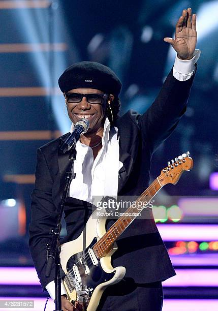 Musician Nile Rodgers performs onstage during 'American Idol' XIV Grand Finale at Dolby Theatre on May 13 2015 in Hollywood California
