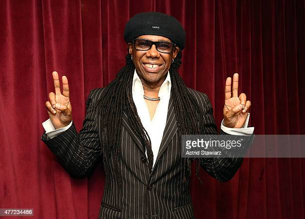 Musician Nile Rodgers visits the SiriusXM Studios on June 15 2015 in New York City