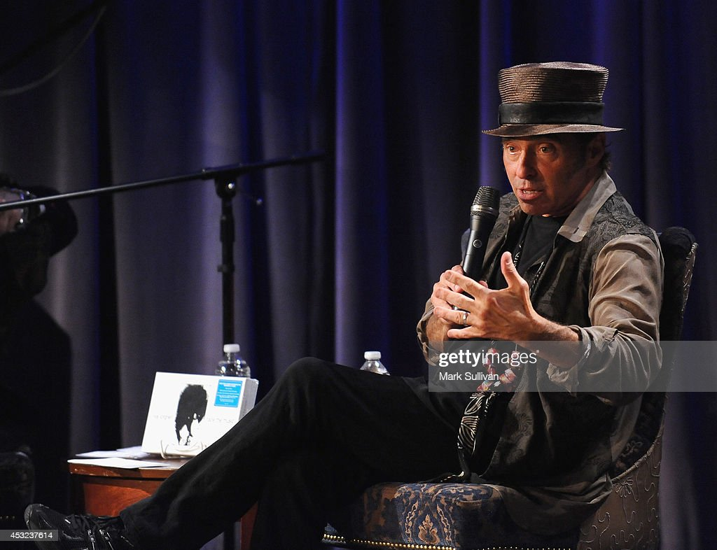 Musician Nils Lofgren onstage during An Evening With Nils Lofgren at The GRAMMY Museum on August 5, 2014 in Los Angeles, California.