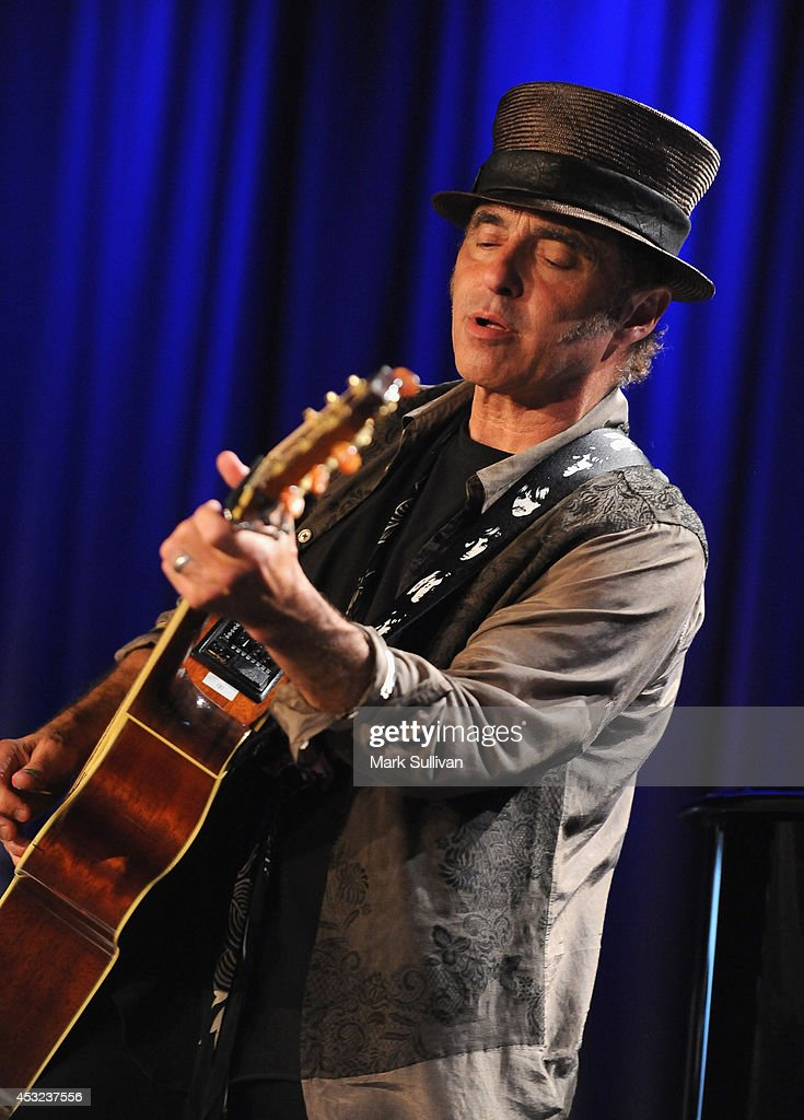 Musician Nils Lofgren performs during An Evening With Nils Lofgren at The GRAMMY Museum on August 5, 2014 in Los Angeles, California.