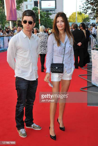 Musician Noel Gallagher and Sara Macdonald attend the 'George Harrison Living In The Material World' UK premiere at BFI Southbank on October 2 2011...