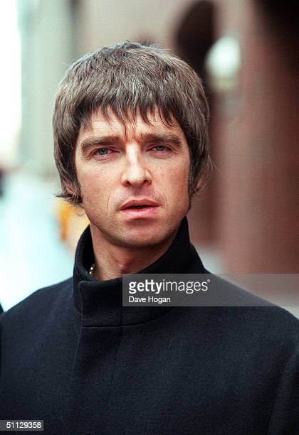 Musician Noel Gallagher from the band Oasis in London