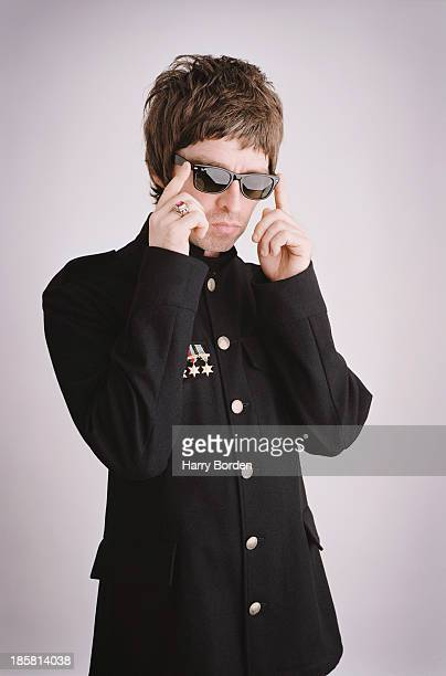 Musician Noel Gallagher is photographed for the Word on July 11 2005 in London England